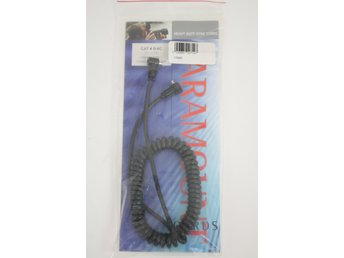 "PARAMOUNT  B-6C - PC Male to PC Male Cord - Coiled - 21"" to 5'"