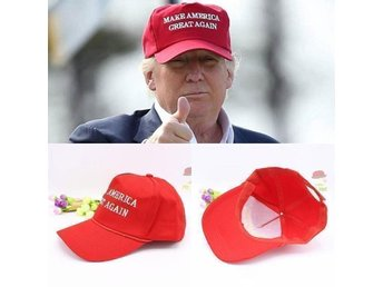 2016 DONALD TRUMP MAKE AMERICA GREAT AGAIN BALL CAP KEPS