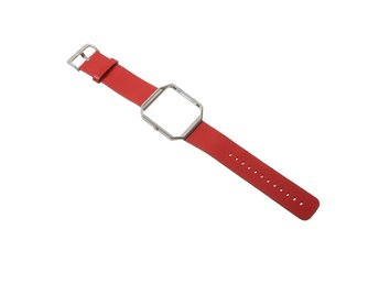 Fitbit Blaze metal frame watchband- Red