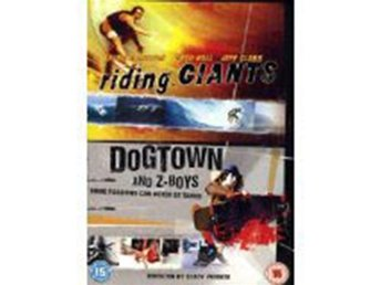 Riding Giants - Dogtown & ZBoys - Lords of Dogtown - Se Text - DVD Box