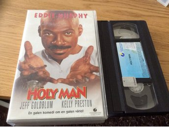 HOLY MAN HYR VHS Eddie Murphy,Jeff Goldblum,Kelly Preston