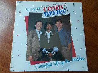 V/A The best of COMIC RELIEF, LP Rhino USA 1986 SEALED Robin Williams Whoopi mfl
