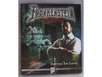Frankenstein Big Box Retro Pc spel Interplay Tim Curry
