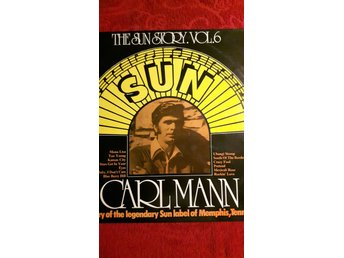 CARL MANN The Sun Story 6. 1975