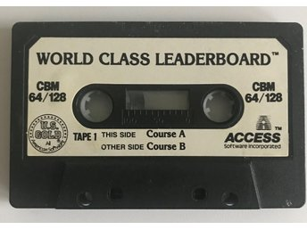 World Class Leaderboard Commodore 64 Spel