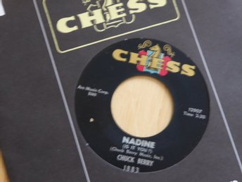 CHUCK BERRY - Nadine  Chess USA -64 singel