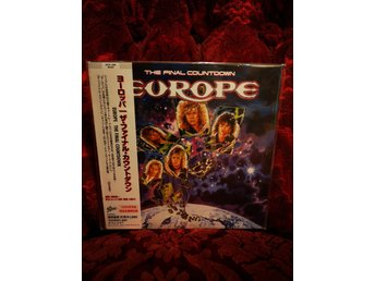 Europe ‎– The Final Countdown / Oöppnad