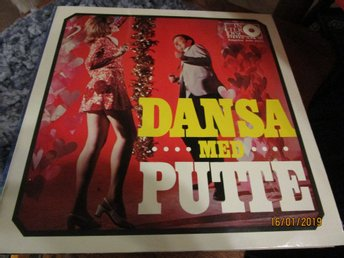 PUTTE WICKMAN - DANSA MED PUTTE - LP