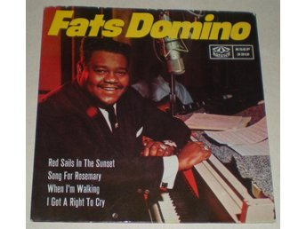 Fats Domino OMSLAG EP Red sails in the sunset 1964