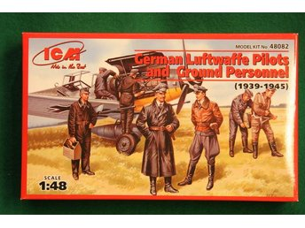 ICM 1/48 German Luftwaffe pilots and ground personell (1939-1945)
