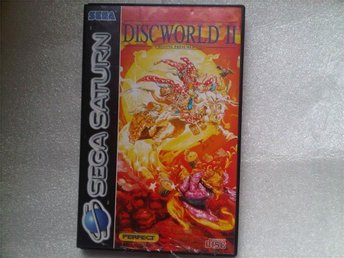 Discworld II 2 Missing Presumed | Sega Saturn | Disc World