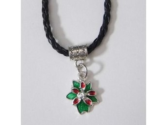 Jul blomma halsband / Christmas flower necklace