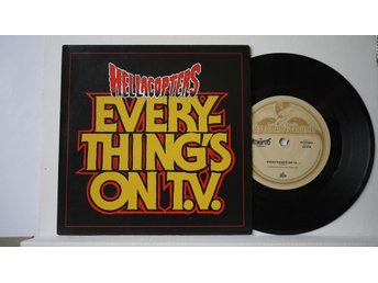 "Hellacopters - Everything´s On T.V. + 1995 (Live)   7""  2005"