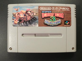 Donkey Kong Country 3 - Dixie Kongs Double Trouble till Super Famicom
