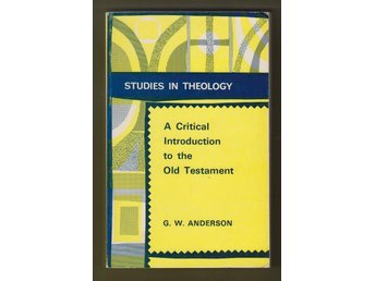 Anderson, George W.: A Critical Introduction to the Old Testament.