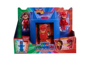 Pj Masks Transforming Owlette Figure Set - Pyjamashjältarna