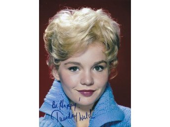 TUESDAY WELD AMERICAN ACTRESS PRE-PRINTED AUTOGRAF FOTO