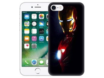 iPhone 7 Skal Glowing Iron Man