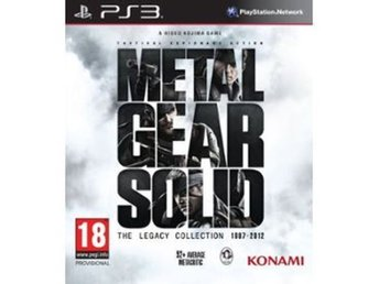 Metal Gear Solid: The Legacy Collection 1987 - 2012 - Playstation 3