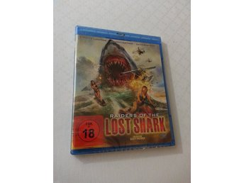Raiders of the Lost Shark (Blu-ray UNCUT) 2015 Candice Lidstone (KULT HAJSKRÄCK)