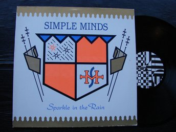 SIMPLE MINDS - Sparkle in the rain  Virgin Tyskland -83 LP