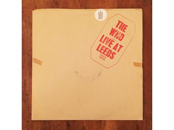 The Who - Live At Leeds LP | UK Track originalpress 1970