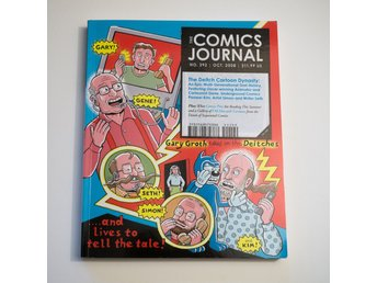 The Comics Journal #292 Oct. 2008