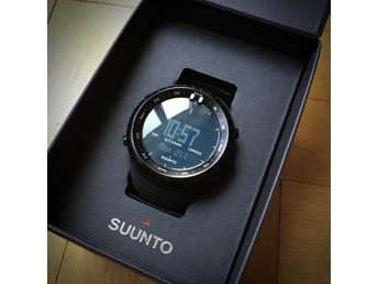 Suunto Core, all black - oanvänd