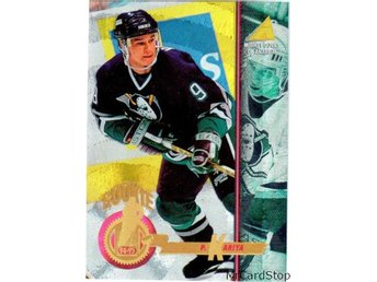 1994-95 Pinnacle 265 Paul Kariya ROO Anaheim Mighty Ducks Rink Collection
