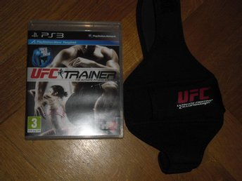 PlayStation 3/PS3: UFC Trainer + Leg Strap (Move-spel)