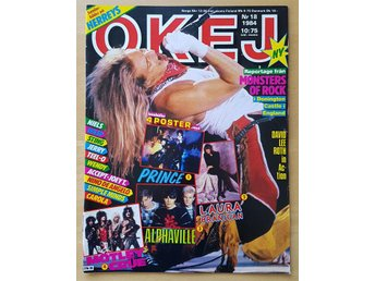 OKEJ 18/84 Van Halen Europe Prince Accept mm