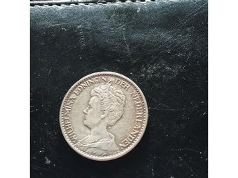 Holland, 1 Gulden 1915 AG 10g - Skärholmen - Holland, 1 Gulden 1915 AG 10g - Skärholmen