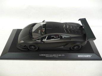 HJULKLAPP?! 1:18 Lamborghini Gallardo LP600 GT3 Minichamps 1 av 702 ex 895:- NY - Kungsbacka - HJULKLAPP?! 1:18 Lamborghini Gallardo LP600 GT3 Minichamps 1 av 702 ex 895:- NY - Kungsbacka