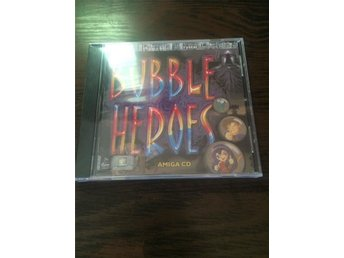 Bubble Heroes Amiga CD inplastad