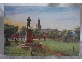 Singapore vykort . St Andrews cathedral . Tuck´s post card