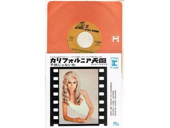 NANCY SINATRA 7'' - How are things in California, Japan -70, PS - Jönköping - NANCY SINATRA 7'' - How are things in California, Japan -70, PS - Jönköping