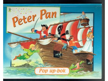 Pop up-bok - Peter Pan
