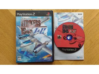 PlayStation 2/PS2: Strikers 1945 I + II (JAPANSKT)