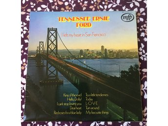 2 x TENNESEE ERNIE FORD - I CAN´T HELP IT PICKWICK US + I LEFT MY HEART IN SF