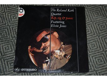 ROLAND KIRK Quartet - Elvin Jones - Rip, Rig and Panic - stark jazz LP