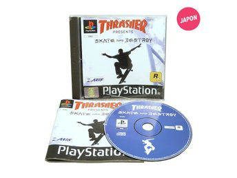 Thrasher Presents Skate and Destroy (EUR / PS1)