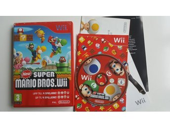 New Super Mario Bros. Wii  -  Wii / WiiU