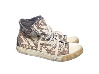 Cheap Monday, Sneakers, Strl: 41, Beige/Gul/Svart