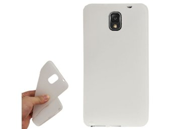 Samsung Galaxy Note 3 TPU Scrub Skal Transparent