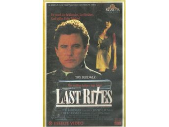 LAST RITES - TOM BERENGER ( VHS - SVENSKT TEXT )