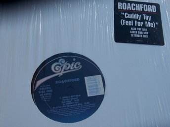 "ROACHFORD - CUDDLY TOY 12"" 1988"