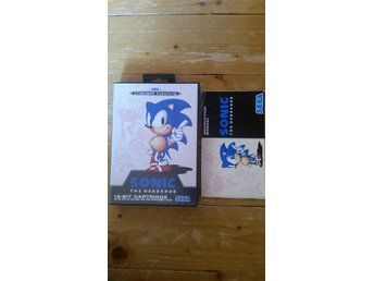 Sega Mega Drive Sonic The Hedgehog