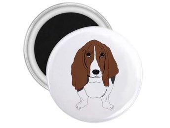 Basset hund kylskåpsmagnet - Chonburi - Basset hund kylskåpsmagnet - Chonburi
