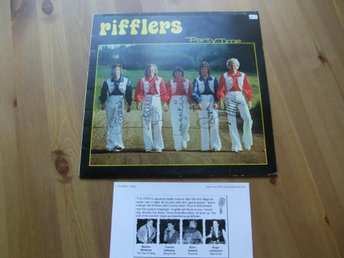 RIFFLERS Party Time Platina autograferad