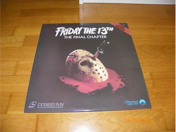 Friday the 13TH - The final chapter - 1st laserdisc